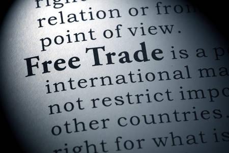 definicion: Definici�n del diccionario de libre comercio.