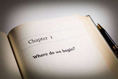 chapter one, Where do we begin written in the book