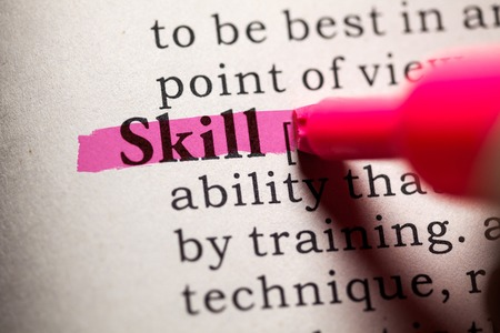Fake Dictionary, Dictionary definition of the word skill.