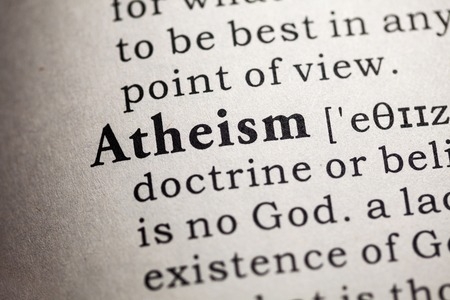 Fake Dictionary, Dictionary definition of the word atheism.