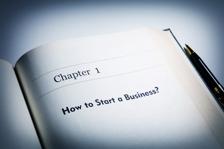 fake book. chapter one, How to start a business?