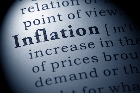 printing out: Fake Dictionary, Dictionary definition of the word inflation.