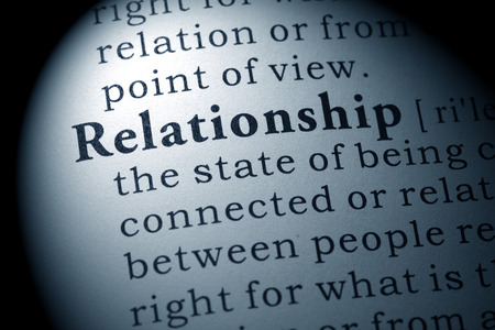 Fake Dictionary, Dictionary definition of the word relationship.