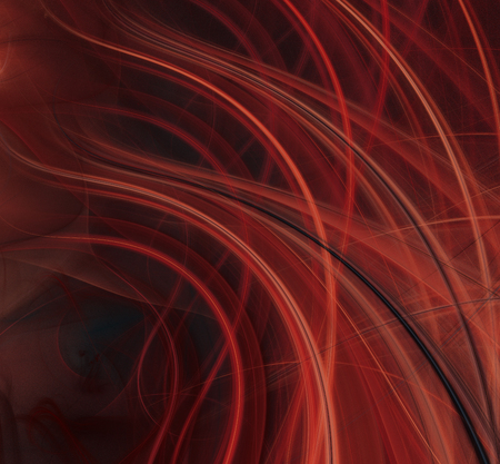 fractal flame: Abstract red flame fractal texture background,