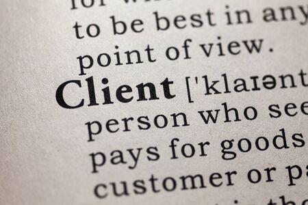 偽の辞書、word クライアントの辞書の定義です。 写真素材
