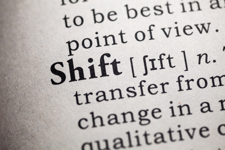 shift: Fake Dictionary, Dictionary definition of the word shift.