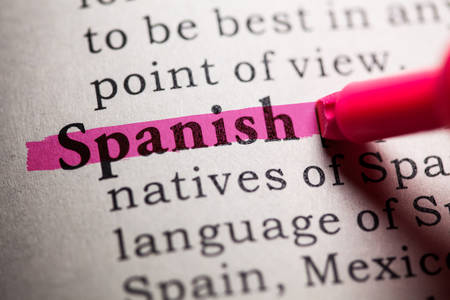 dictionary definition: Fake Dictionary, Dictionary definition of the word spanish.
