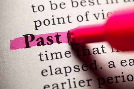 dictionary definition: Fake Dictionary, Dictionary definition of the word past.
