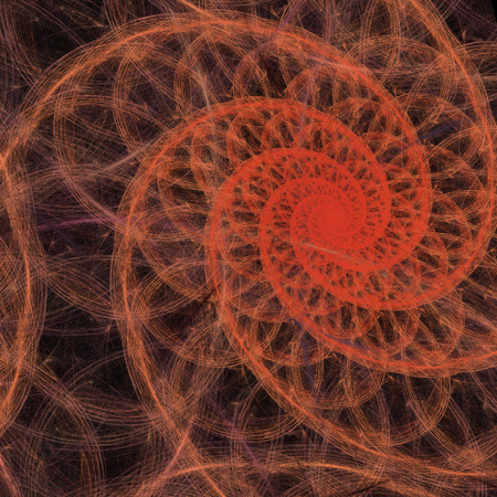 emit: Abstract fractal texture background, fractal elements for mathematics, technology, science.