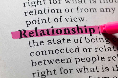 definitions: Fake Dictionary, Dictionary definition of the word relationship.