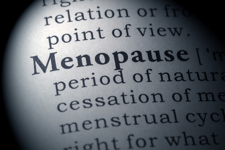 dictionary definition: Fake Dictionary, Dictionary definition of the word menopause.