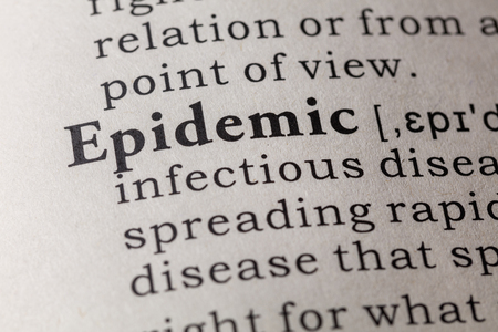 Fake Dictionary, Dictionary definition of the word epidemic.