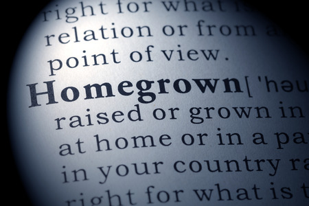 Fake Dictionary, Dictionary definition of the word homegrown.