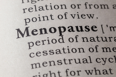 Fake Dictionary, Dictionary definition of the word menopause.