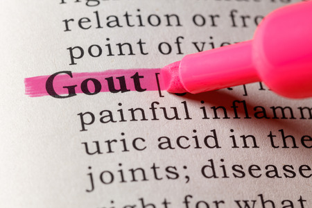 Fake Dictionary, Dictionary definition of the word gout.