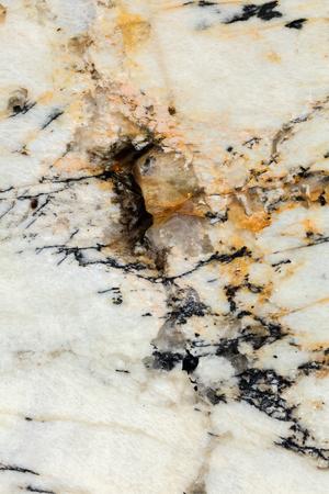 Orange marble texture background close up shot