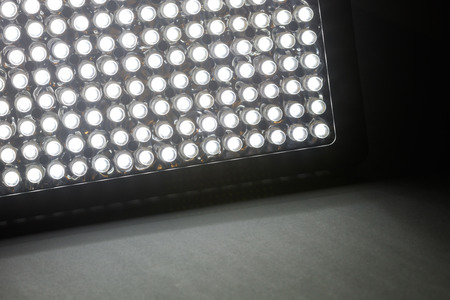 Led panel light, savings on energy consumption.