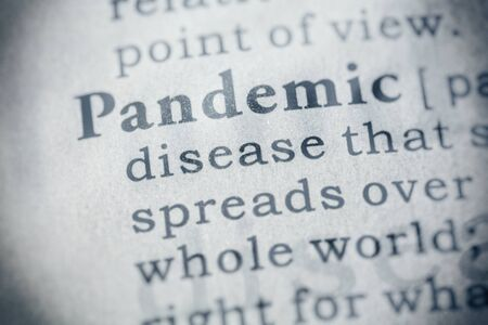 Fake Dictionary, Dictionary definition of word pandemic.