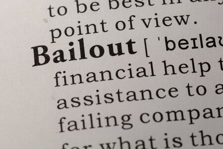 Fake Dictionary, Dictionary definition of word bailout.