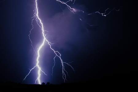Thunder storm in Northern Johannesburg