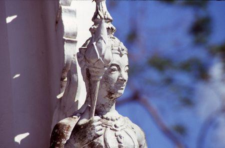 sceptre: gaurdian statue