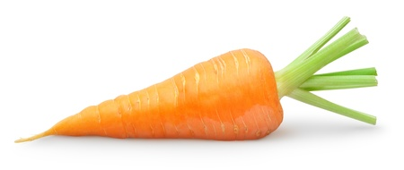 zanahoria: Zanahoria aislado en blanco