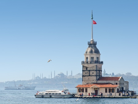 Maiden s Tower in Istanbul, Turkey photo
