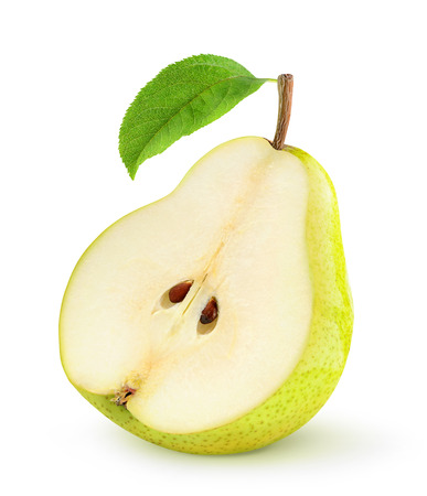 pear: Fresh pears isolated on white