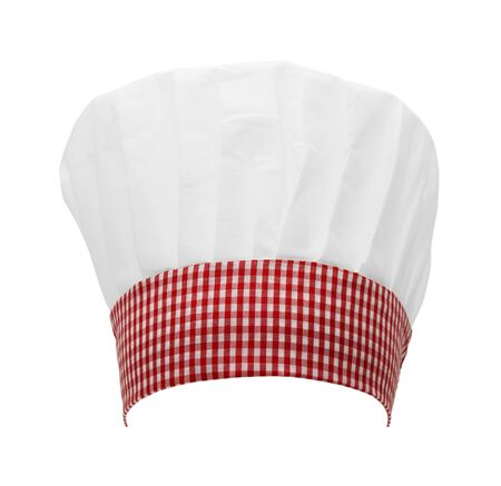Resturant Chef Hat Isolated on a White Background.