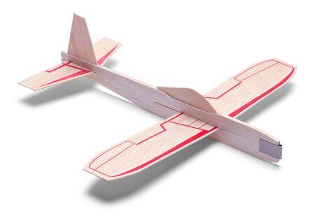 아이 장난감 비행기에 흰색 배경 절연 됨.