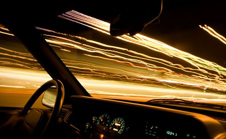 car light trails 1 Stock Photo - 5224509
