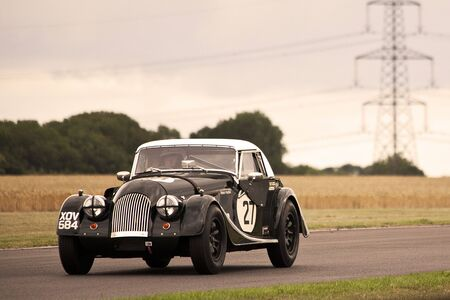 morgan plus4,castyle combe race,celebrating 60  years of racing