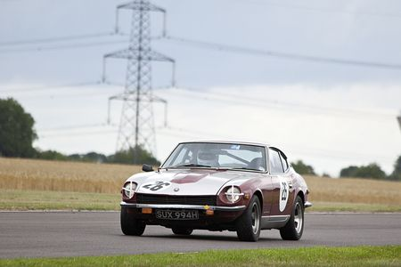 datsun 240z,castyle combe race,celebrating 60  years of racing Editorial