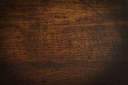 vintage timber: an old vintage dark wooden block texture Stock Photo