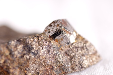 scapolite: cobaltite or cobalt mineral sample used in manufacturing