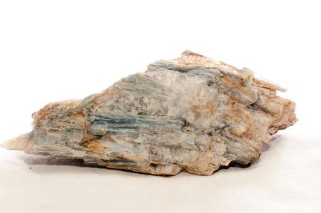 admixture: kyanite crystal mineral sample,a semi precious gemstone Stock Photo