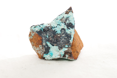 luster: aurichalcite, a secondary mineral in copper and zinc