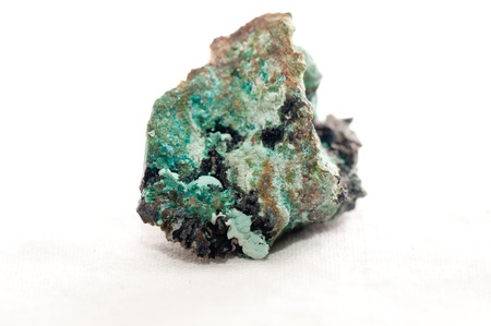 new age: creedite or credite unrefined crystal sample used for meditation and healing Stock Photo