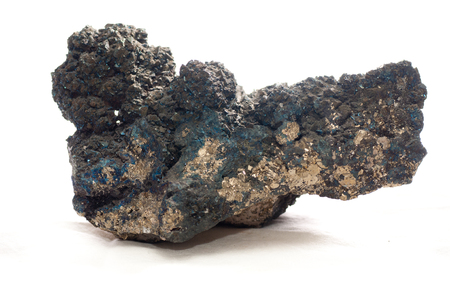 alloy: tennantite metal, a metal alloy stronger than copper