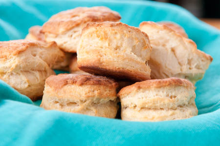 fluffy: delicious buttermilk biscuits, homemade