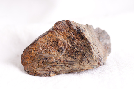 ferrous: satterlyite mineral crystal sample related to shale mining