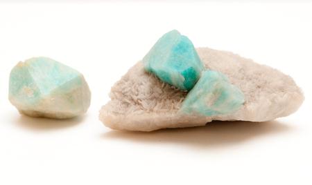 amazonite: amazonite gemstone mineral