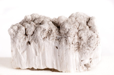 borax: a large sample of inderdite or borate, borax mineral from california Stock Photo