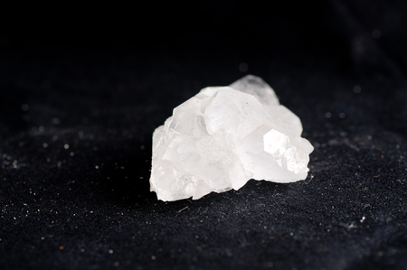 fluorite: fluorite, white crystal mineral sample of a gemstone with quartz