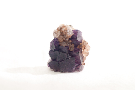 sphalerite: fluorite with quatrz crystals mineral samples, rare earth gems