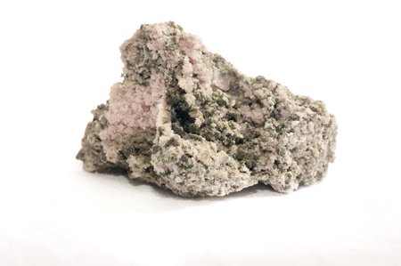 calcite: calcite and duftite mineral sample crystals, rare earth minerals