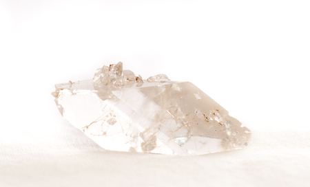 calcite: calcite crystal mineral sample, a rare earth mineral