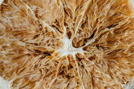 Texture of dried citrus.Macro Zdjęcie Seryjne
