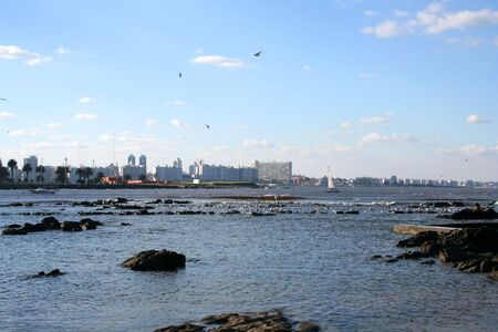 southamerica: Skyline of Montevideo