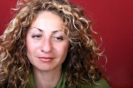 ringlet: Portrait of a woman